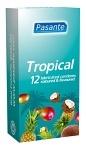 Pasante kondom Tropical Flavours 12-pack