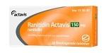 Ranitidin Actavis, filmdragerad tablett 150 mg 30 st