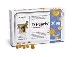 D-Pearls 38 µg 40 kapslar