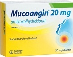 Mucoangin, sugtablett 20 mg 30 st