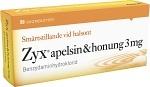 Zyx apelsin & honung, sugtablett 3 mg 2 x 10 st