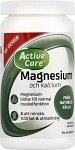 Active Care Magnesium och Kalcium 180 tabletter