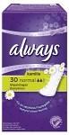 Always Trosskydd Normal Kamomill 30 st parfymerad