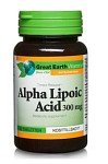 Great Earth Alpha Lipoic Acid 300mg 60 tabletter