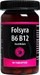 Folsyra B6 B12, 90 tabletter