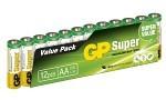 Batteri Super AA LR6 1,5V 12 st