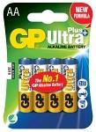 Batteri Ultra Plus LR6 AA 4 st