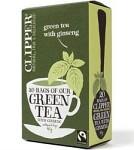 Clipper Green Tea with Ginseng 20 tepåsar