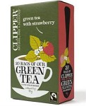 Clipper Green Tea with Strawberry 20 tepåsar