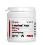Dimetikon Meda, kapsel, mjuk 200 mg 100 st