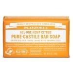 Dr Bronner Citrus Orange Bar Soap