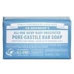 Dr Bronner Mild Unscented Bar Soap