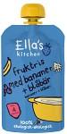 Ella's Fruktris Banan & Blåbär 120g