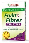 Frukt & Fibrer 30+15 tabletter