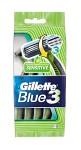 Gillette Blue 3 Sensitive Engångshyvlar 4 st