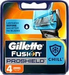 Gillette Fusion ProShield rakblad 4 st