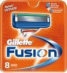 Gillette Fusion rakblad 8 st