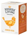 Higher Living Ginger Kick 15 tepåsar