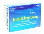 Inside Brus brustablett 150 mg 20 st
