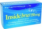 Inside Brus, brustablett 150 mg 10 st