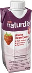 Naturdiet Shake Jordgubb 330 ml