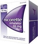 Nicorette Inhalator, inhalationsånga, vätska 10 mg 42 st