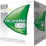 Nicorette, medicinskt tuggummi 2 mg 210 st