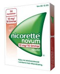 Nicorette Novum, depotplåster 10 mg/16 timmar 14 st