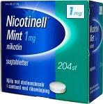Nicotinell Mint komprimerad sugtablett 1 mg 204 st