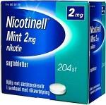 Nicotinell Mint komprimerad sugtablett 2 mg 204 st