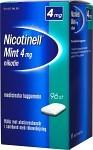 Nicotinell Mint, medicinskt tuggummi 4 mg 96 st