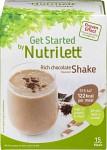 Nutrilett Quick Weightloss Shake Chocolate 15 påsar