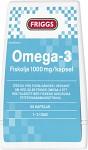 Friggs Omega-3 1000 mg 60 kapslar