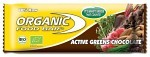Organic Food Bar Active Greens Chocolate 70 g