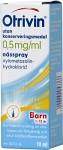 Otrivin utan konserveringsmedel, nässpray, lösning 0,5 mg/ml 10 ml
