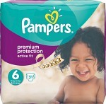 Pampers Active Fit S6 15+ kg 31 st