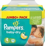 Pampers Baby-Dry S4 7-18 kg 78 st