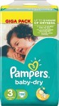Pampers Baby-Dry S3 4-9 kg 136 st