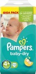 Pampers Baby-Dry S4+ 9-20kg 112 st