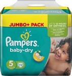 Pampers Baby-Dry S5 11-25kg 72 st