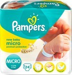 Pampers New Baby CP Hospital Micro 1,5-3 kg 24 st