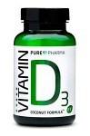 PurePharma Vitamin D3 120 kapslar