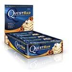 Questbar Vanilla Almond Crunch 12 st