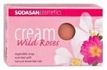 Sodasan Cream Soap Wild Roses 100 g