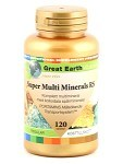 Great Earth Super Multi Minerals Regular 120 tabletter