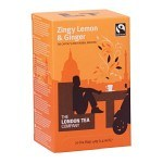 The London Tea Company Zingy Lemon & Ginger 20 st
