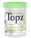 Topz Make-Up Remover Pads med lotion 100 st