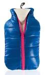 Värmeflaska Dunjacka blå