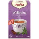 YogiTea Wellbeing 17 tepåsar