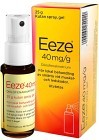Eeze, kutan spray, gel 40 mg/g 25 gr